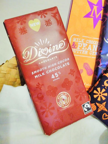 My Endo and PCOS care products and Divine Fairtrade chocolate during difficult times - with Sabeena Ahmed