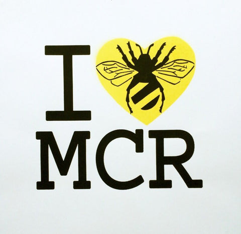 I love Manchester in memory of the 22 victims and their families may they rest in peace.