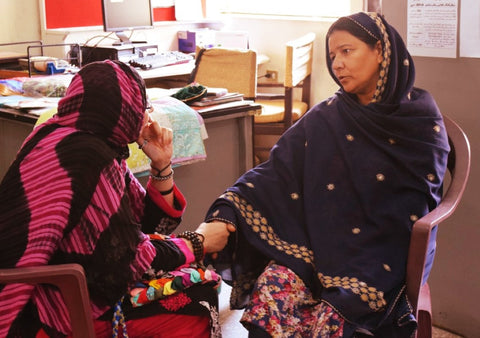 Interview with Mrs Nisreen conducted Feb 2015 at the RLCC Karachi Pakistan with Sabeena Ahmed