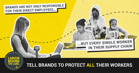 Labour Behind The Label's COVID-19 Call on Brands to Support Workers
