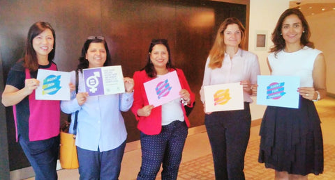 Beautiful Agents for Change supporting World Fair Trade Day Dubai, UAE - May 2017 by The Little Fair Trade Shop