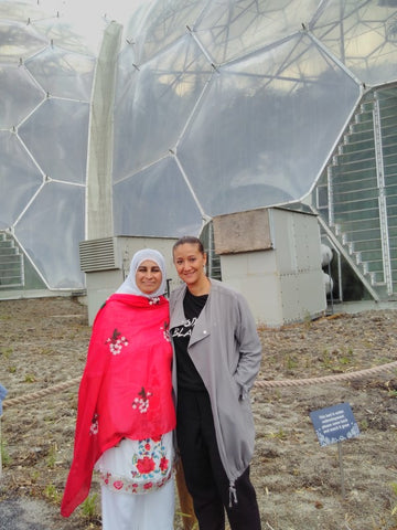 The Eden Project Tour with Dan Ryan, Sabeena and Najat - BSEP Academy visited August 2018