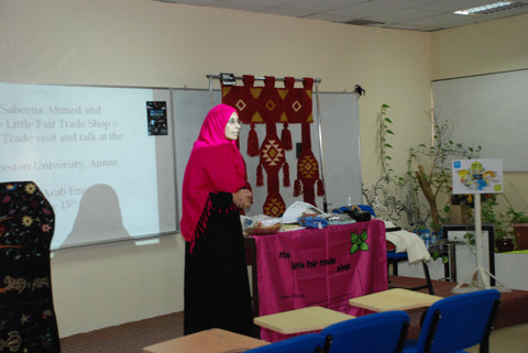 Fair Trade Talk at The Preston University Ajman - May 2012