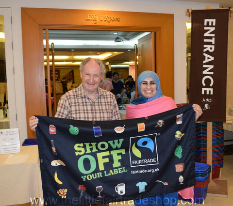 Interview with Mr Stephen Salmon and Visit to ThaiCrafts Bangkok November 2015 by Sabeena Ahmed and the Little Fair Trade Shop