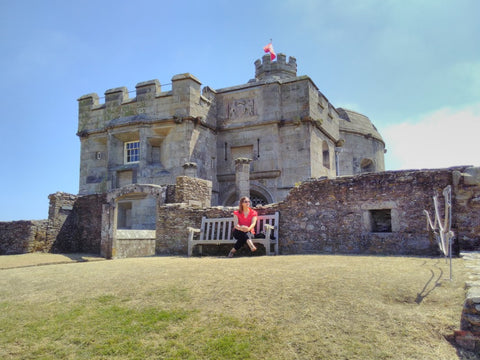 Najat at Pendennis Castle visited 5th August 2018