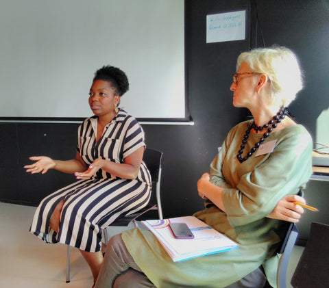 Day 2, Expert Session with Naomi Mwasambili at the Good Hotel, London - July 2018