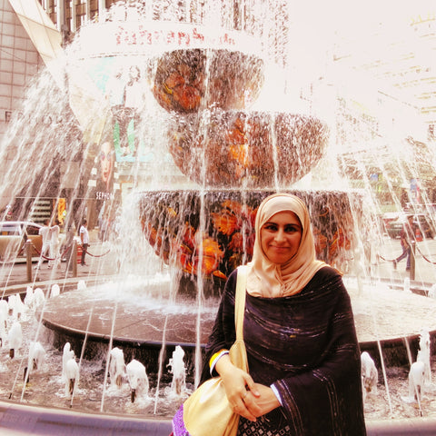 The Pavilion Fountain, Kuala Lumpar - Fair Trade Travels during Ramadan with Sabeena Ahmed
