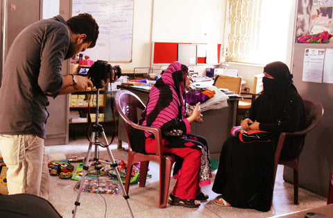Interview with Haseena at the RLCC Karachi with Sabeena Ahmed and The Little Fair Trade Shop