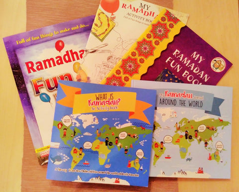 Fairtrade Ramadan Childrens books purchased by The Little Fair Trade Shop May 2017