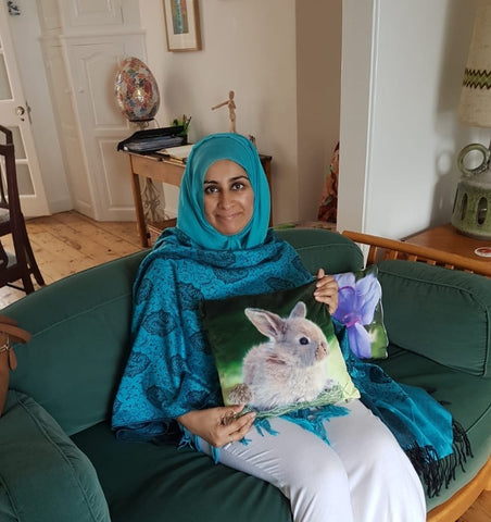 Sabeena Ahmed at the beautiful ArtHouse Falmouth, Cornwall stayed August 2018