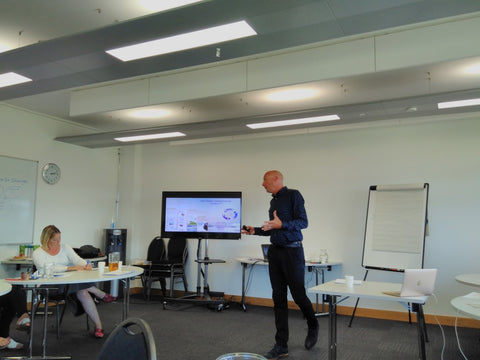 Steve Neale - Creator of the Limbic Performance System at SSE Cornwall August 2018