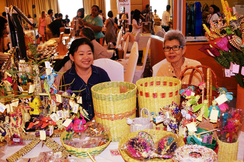 Visit to ThaiCrafts Bangkok November 2015 by Sabeena Ahmed and the Little Fair Trade Shop