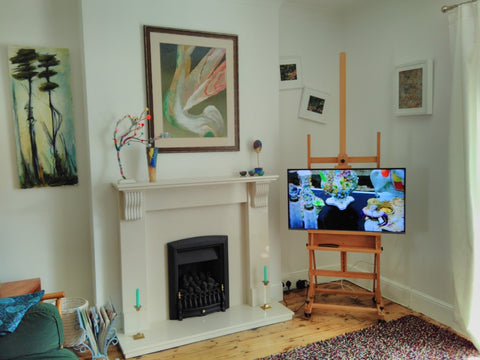 The Arthouse Living Room, Falmouth stayed August 2018