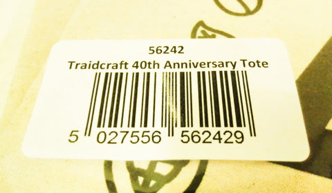 Traidcraft 40th Anniversary Tote Bag - Sabeena Ahmed