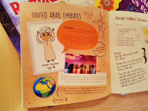 Ramadan Around the world for children book - Ramadan in the UAE