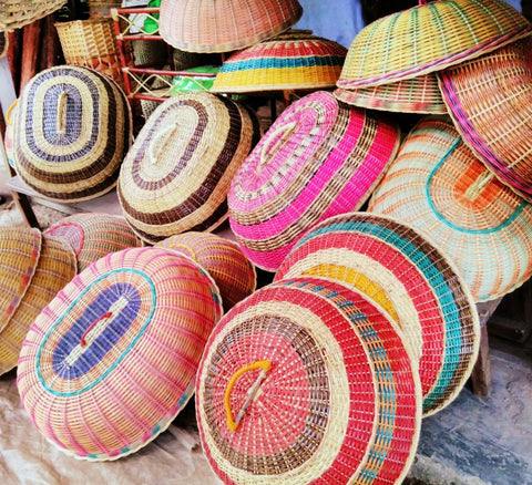 Traditional Malay basket stall near the Cameron Highlands - FairTrade Travels during Ramadan with Sabeena Ahmed