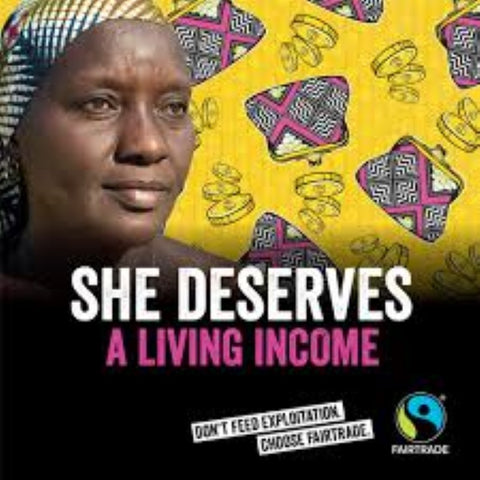 Fairtrade Fortnight Dubai 2019 - She deserves a living income
