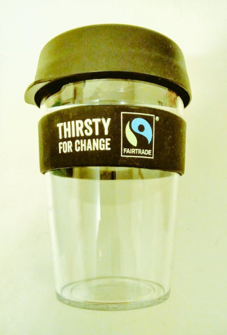 My Thirsty for Change fairtrade reusable cup - Sabeena Ahmed