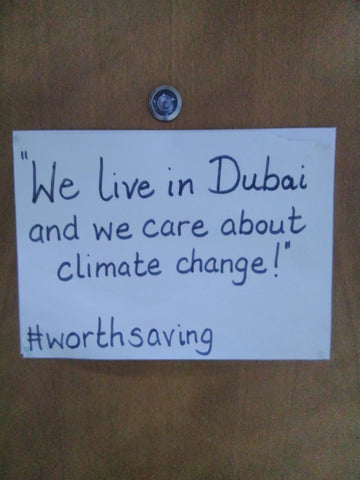 Dubai Climate Change Poster for Climate Action September 2019 with Sabeena Ahmed