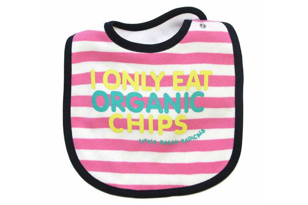 Fair trade organic cotton baby bib