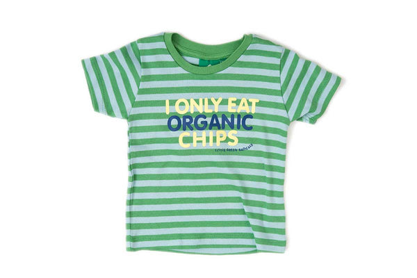 Fair trade green children's t-shirt