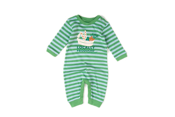 Fair trade organic cotton babygrow