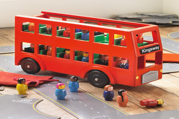 Red Toy Bus