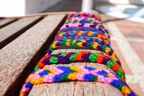 Multicoloured Cotton Wristbands