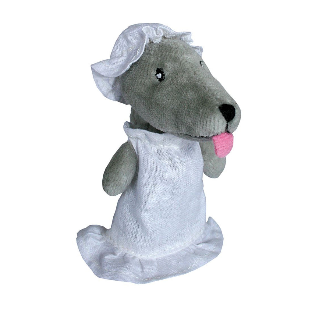 Wolf With Clothing Fingerpuppet