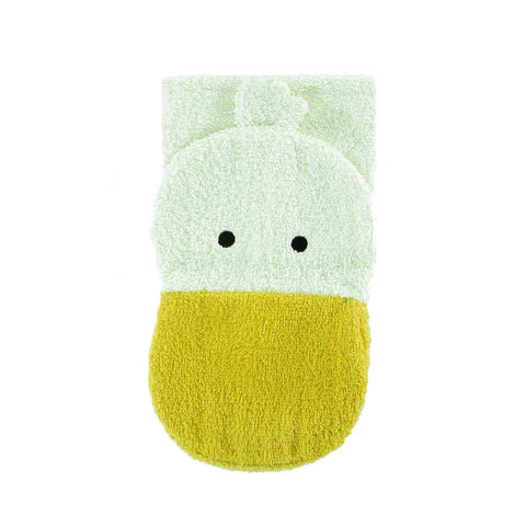 Wash Mitt Puppets - Duck (organic cotton)