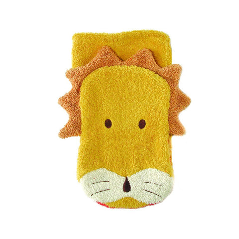 Lion Washcloth Puppet