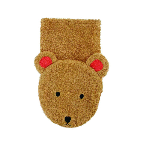 Washcloth Puppet Bear (Child Size)