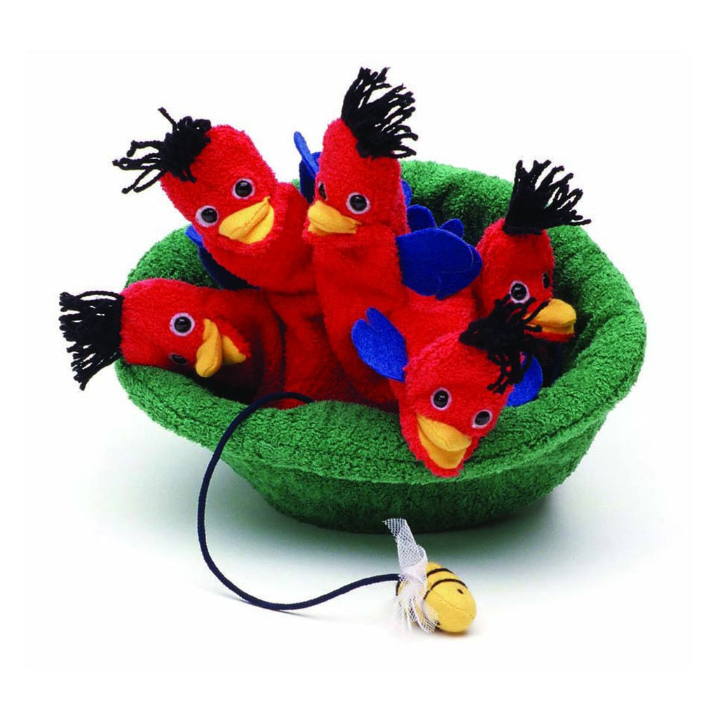 Pipaln Birds in Nest Puppet
