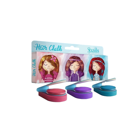 Snails Hair Chalk - 3 Pack (6)