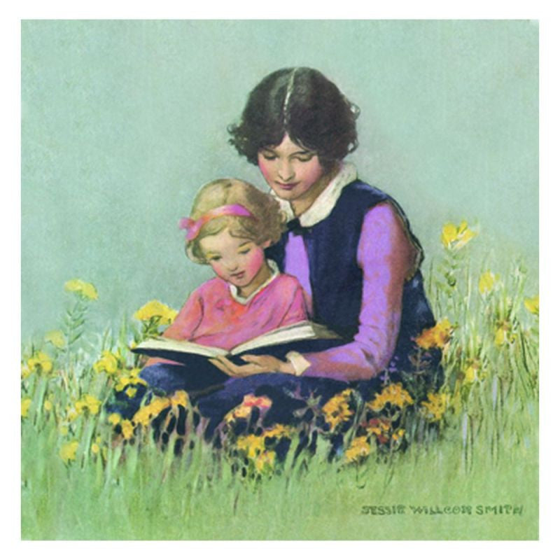 Jessie Willcox Smith Greeting Cards (Set of 6): Reading