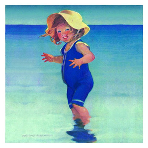 Jessie Willcox Smith Greeting Cards (Set of 6): Girl with Sun Hat