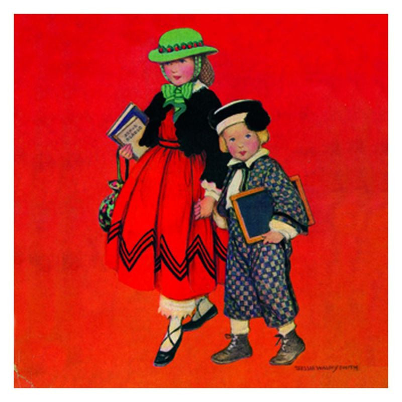 Jessie Willcox Smith Greeting Cards (Set of 6): Dressed for Success
