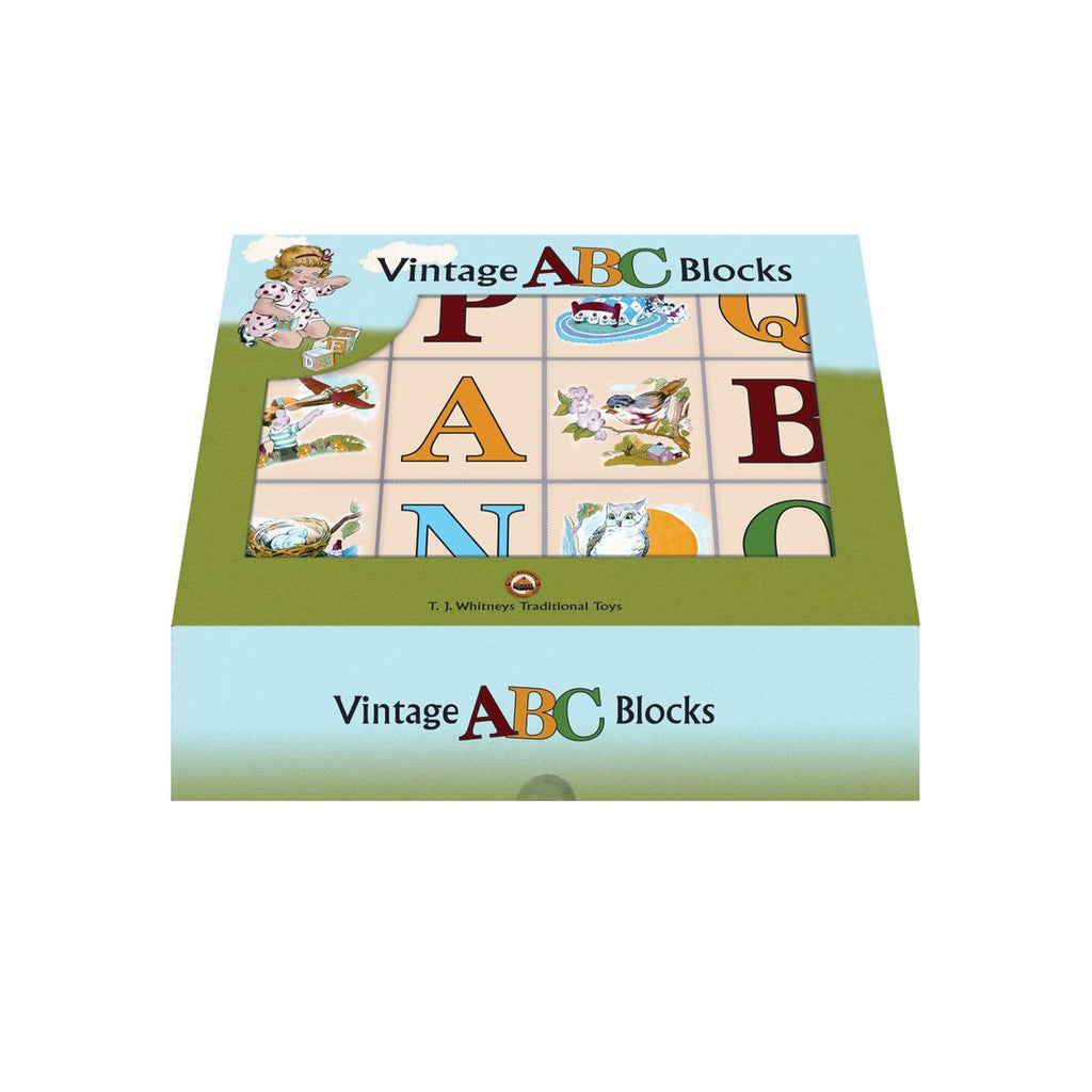 Vintage ABC Blocks