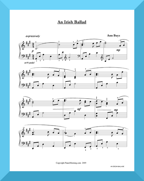 An Irish Ballad