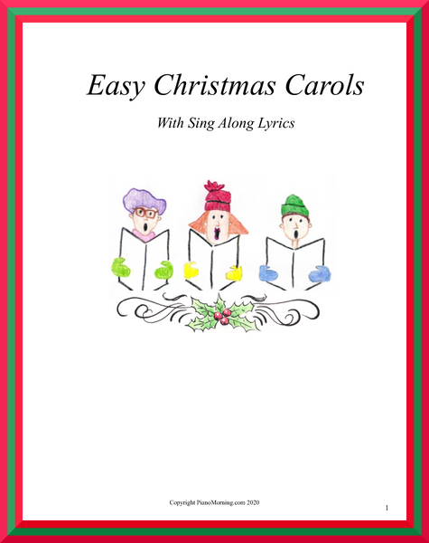 Easy Christmas Carols Sing Along