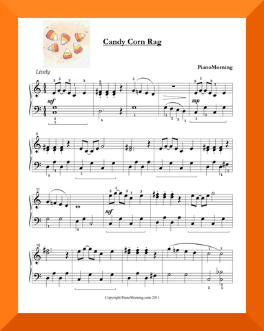 Candy Corn Rag