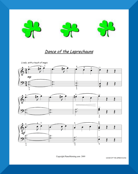 DANCE OF THE LEPRECHAUNS
