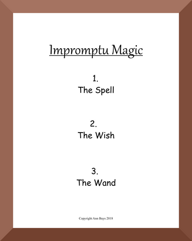 IMPROMPTU MAGIC