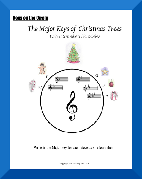The Major Keys of Christmas Trees