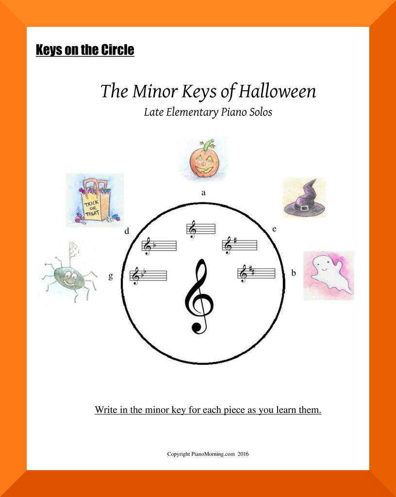 The Minor Keys of Halloween
