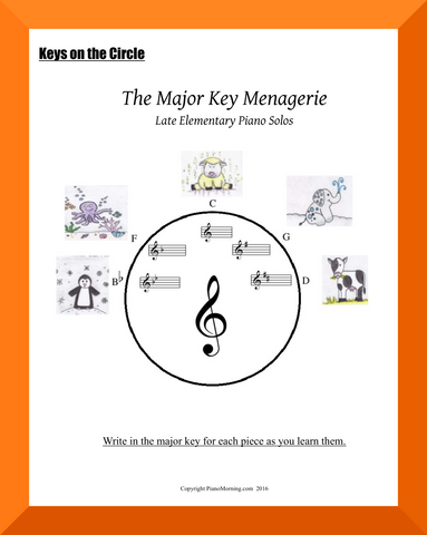 The Major Key Menagerie