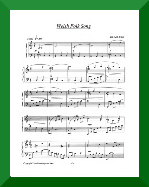 Welsh Folk Song