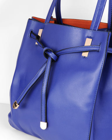 Tasche City Shopper in Blau von ImiLoa