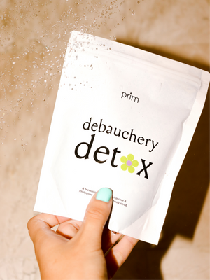 The Debauchery Detox Coffee and Charcoal Body Scrub