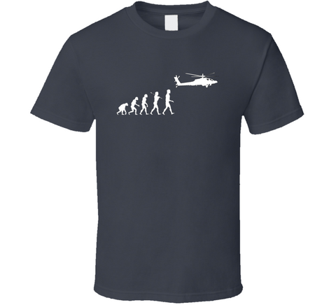 Helicopter Evolution Apache T Shirt